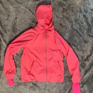 Ivivva athletica pink windbreaker jacket